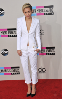 woman wearing white suit
